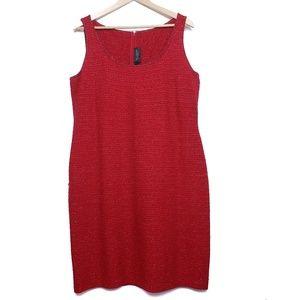 St. John Couture   sleeveless knit dress